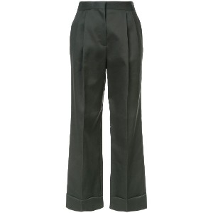 The Row Llano flared trousers - グリーン