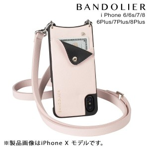 【SOLD OUT】 BANDOLIER バンドリヤー iPhone8 iPhone7 7Plus 6s ケース スマホ アイフォン プラス CARLY LIGHT PINK レザー メンズ...