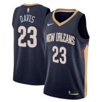 ナイキ メンズ ジャージー Anthony Davis New Orleans Pelicans Nike Swingman Jersey NBA ユニフォーム Blue NBA ユニフォーム...