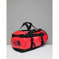 ノースフェイス メンズ ボストンバッグ バッグ The North Face Base Camp Duffel Bag Medium 71 Litres in Red/Black Red/black