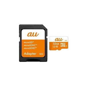 au+1collection microSDHC USH-Iメモリーカード 32GB CLASS10