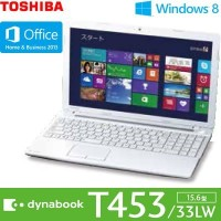 東芝 dynabook T453/33LW [Office付き] (ホワイト) PT45333LSXW