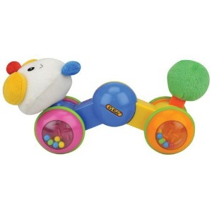 K's Kids Press and Go Inchworm Rattle by Ohio Art [並行輸入品]
