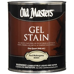 Old Masters 24994 Interior/Exterior Gel Stain Red Mahgony by Old Masters