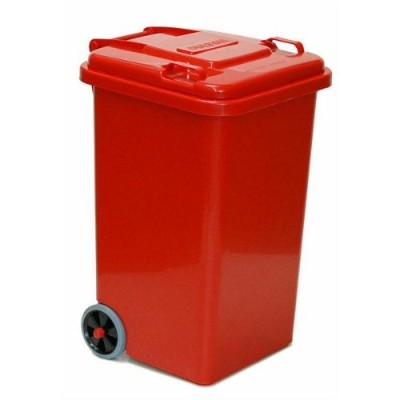 PLASTIC TRASH CAN 65L(レッド)