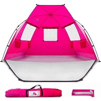 Beach Tent Shelter Shade Cabana - Extra Large Sun Portable Changing Outdoor Tent Deluxe Quick Giant...