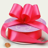 """Hot Pink Double Face Satin Ribbon, 1-1/2"""" X 50Yd by Paper Mart [並行輸入品]"""