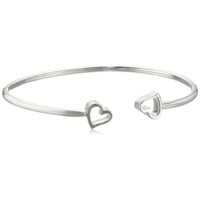 Alex and Ani Womens Formidable Heart Cuffブレスレット Expandable