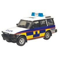 Richmond Toys Motormax 4X4 London Series Police Discovery Die-Cast 1:43 Collector Edition