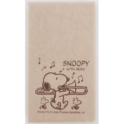 SNOOPY with Music スヌーピー SCLOTH-TB 楽器用クロス