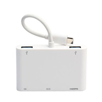 Z-Tactical Apple Macbook Air用 USB Type-C to HDMI, VGA, USB Type A 変換ケーブル