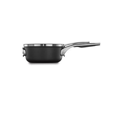 (2.5qt Sauce Pan with Cover) - Calphalon Premier Space Saving Nonstick 2.4l Sauce Pan with Cover