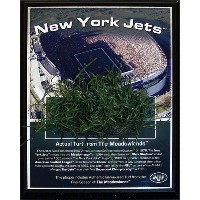 High Quality NFL New York Jets Jets Meadowlands Game-Used Turf Plaque