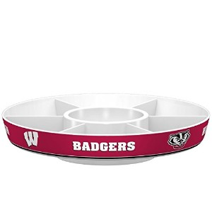 Wisconsin Badgers Platterパーティースタイル