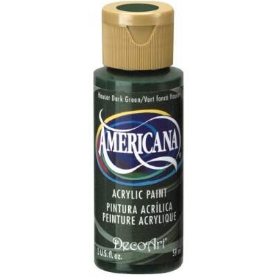 DecoArt Americana Acrylic Paint, 2-Ounce, Hauser Dark Green by DecoArt [並行輸入品]