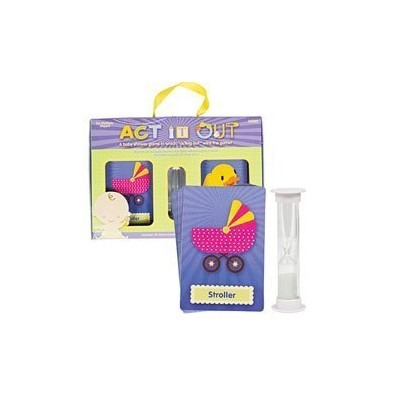 ACT IT OUT ~~ CARDS TIMER~~ BABY SHOWER GAME IDEA