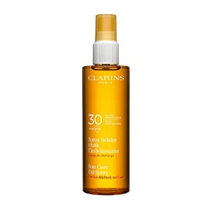 Clarins Sun Care Oil Spray For Beautiful Body and Hair Spf30 150ml [並行輸入品]