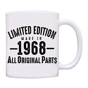 owndis 50th誕生日プレゼントLimited Edition Made in 1967All Original Partsコーヒーマグ 11オンス 0072-1