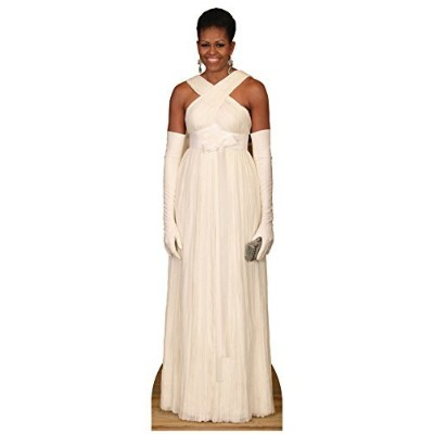 First Lady Michelle Obama Formal Lifesize Standup Cardboard Cutouts 75 x 23in by Star Cutouts