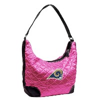 NFLピンクQuilted Hobo