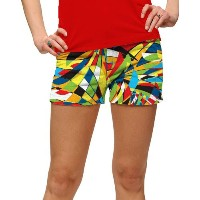 LoudMouth Ladies Toucan StretchTech Mini Shorts【ゴルフ レディース>パンツ】