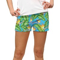 LoudMouth Ladies Tahiti StretchTech Mini Shorts【ゴルフ レディース>パンツ】