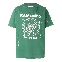 Department 5 Ramones T-shirt - グリーン