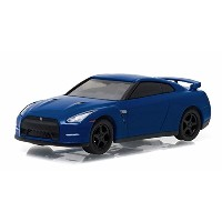 Greenlight 1/64 NISSAN GT-R(R35) 2014 ダイキャストカー MUSCLE SERIES 17 COLLECTION ブルー [並行輸入品]