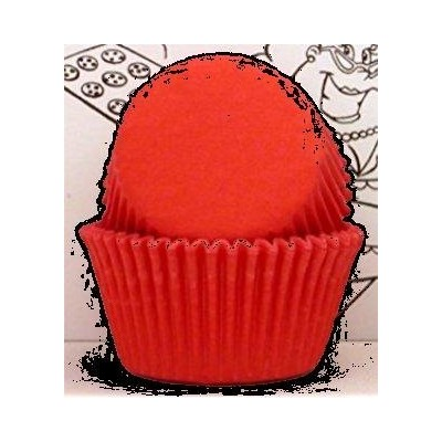 Red Baking Cups Standard Size Red Cupcake Liners appx. 450/pc