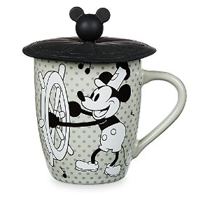 Disney Parks Steamboat Willie MickeyマウスMug with Lid