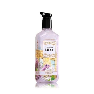 (バスアンドボディワークス ハンドソープ) Bath  Body Works WATERLILY  LILAC Gentle Creamy LUXE hand soap 8. fl oz.