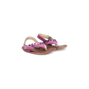 Pèpè sueded thong sandals - ピンク&パープル