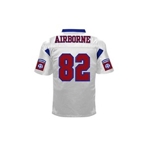 Battlefieldコレクション82 nd Airborne Authentic Football Jersey ( $ 74.99 ) ホワイト