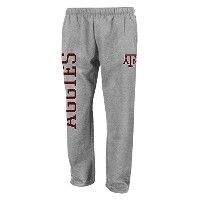 Texas A & M Aggies Fleece Pant Heather Gray XL