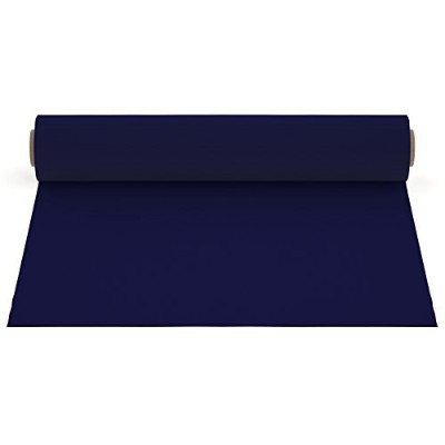 (1 sheet, Navy Blue) - Firefly Craft Heat Transfer Vinyl For Silhouette And Cricut, 30cm by 50cm,...