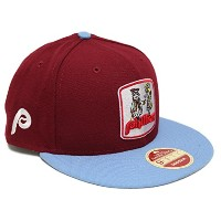 "Philadelphia Phillies New Era 9 Fifty "" 2次側"" Heritage MLBスナップバック帽子"