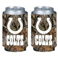 NFL Football Vista Camo Beer Can Kaddy折りたたみ可能なホルダー2- Pack–Pickチーム!