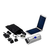 Powertraveller Powermonkey Expedition Multi-Power Waterproof 5V and 12V Charger, Silver by...