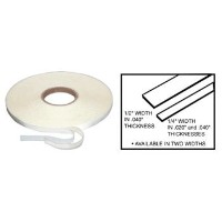 CRL 1/4 x .020 Transparent Acrylic Very Hi-Bond Adhesive Tape - 7 ft by C.R. Laurence