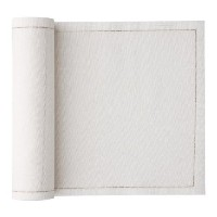MyDrap 7.9-inch by 7.9-inchリネンとコットンLuncheon Napkins on a Roll Luncheon Napkin ベージュ SLA20/101-0