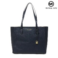MICHAEL KORS(マイケルコース) トートバッグ『Mercer Large Top-Zip Leather Tote』(414ADMIRAL/ネイビー)30T7GM9T7L...