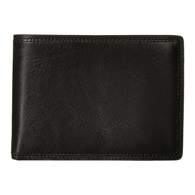 ボスカ メンズ 財布 アクセサリー Dolce Collection - Credit Card Wallet w/ ID Passcase Black