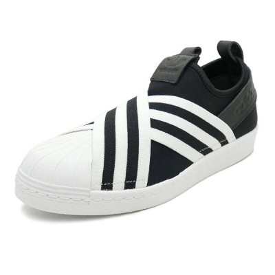 adidas Originals SUPERSTAR SLIPON W【アディダス オリジナルス スーパースタースリッポンW】core black/core black/running white...