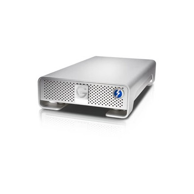 HGST G-DRIVE 0G05027 外付けハードディスク HDD 10TB[Thunderbolt/USB-A 3.0・Mac/Win] シルバー