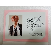 [KPOP] SM TOWN  公式 GOODS -  NCT TAEYONG Birthday Event Limited Postcard