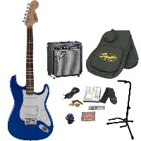 Squier by Fender / Affinity Stratocaster Imperial Blue エレキギター 初心者16点セット フェンダーアンプSET