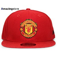 ニューエラ マンチェスター ユナイテッド FC 【PERF TRICK SNAPBACK/RED】 NEW ERA MANCHESTER UNITED FC [SHADOW_TECH 18_4...