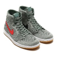 NIKE AIR JORDAN 1 RETRO HI FLYKNIT(ナイキ エア ジョーダン 1 レトロ ハイ フライニット)(CLAY GREEN/WHITE-HYPER COBALT-GUM...