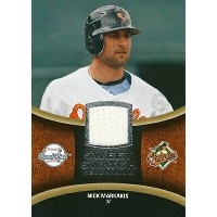 MLB カード【ニック・マーケイキス】2008 UD Sweet Spot Swatches(White) / Nick Markakis
