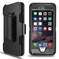 iPhone 6s Case iPhone 6 Case MBLAI Tough Defender [4 Layer][Rugged Rubber][Shock Absorbent][Drop...